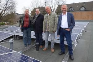Stromerzeugung durch Solar