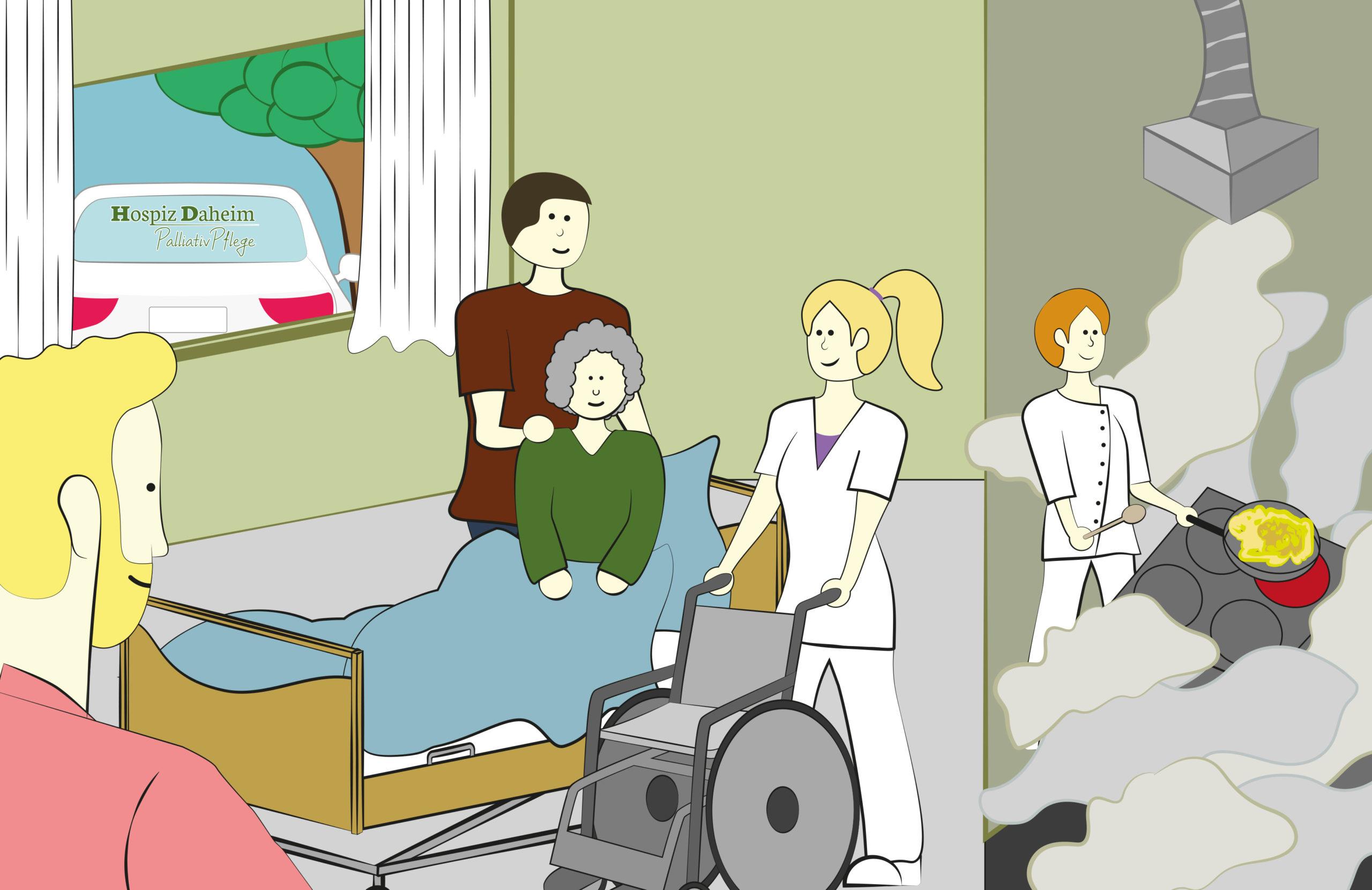 karriere im Hospiz